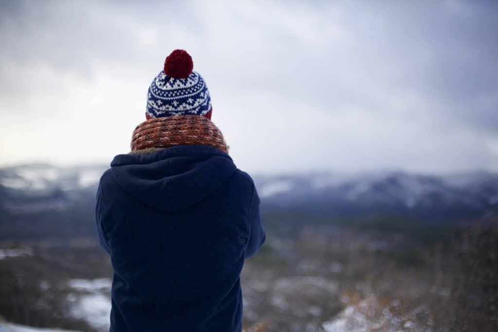 Berg-Winter-Panorama