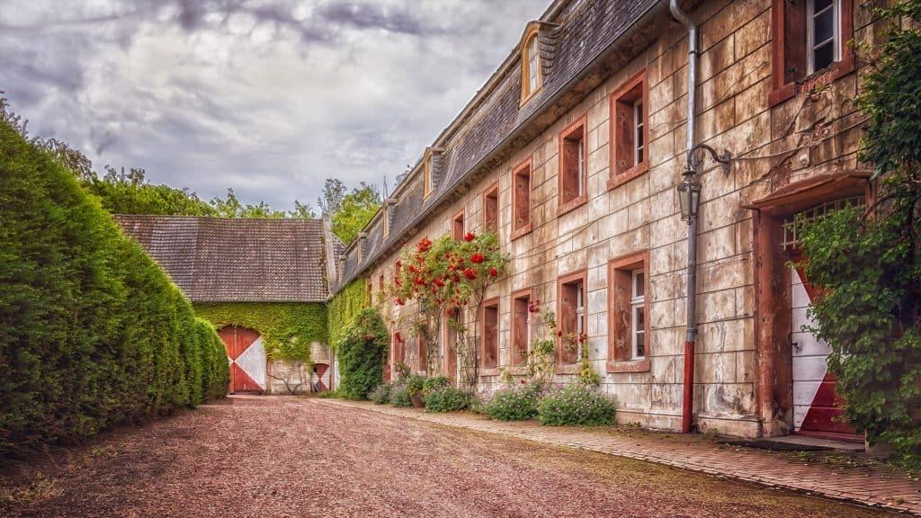 Schloss-historisch