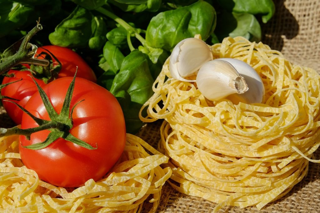 italienisch-pasta-knoblauch